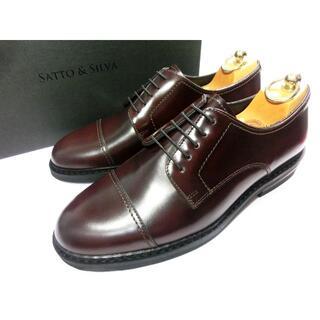 サントーニ(Santoni)の【新品◆LEON掲載◆雨天仕様◆3.5万】SATTO&SILVA 革靴 40.5(ドレス/ビジネス)