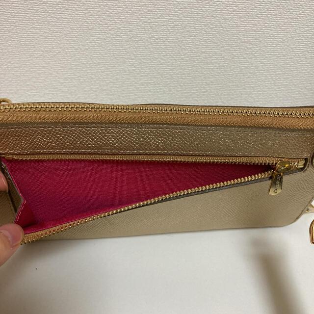 A.D.M.J.(エーディーエムジェイ)のADMJ チェーンウォレット 財布 ゴールド 長財布 スワロフスキー ピンク ♡ レディースのファッション小物(財布)の商品写真
