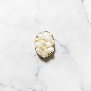 アッシュペーフランス(H.P.FRANCE)のhandmade * classical pearl pierce(ピアス)