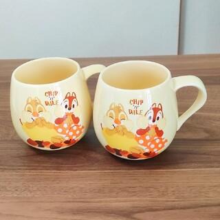 チップアンドデール(チップ&デール)の【新品】ディズニー チップアンドデール マグカップ(グラス/カップ)