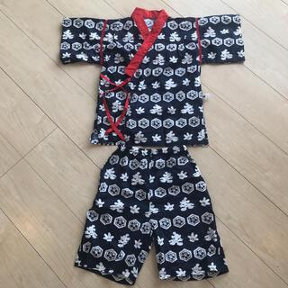 ディズニー(Disney)の甚平 上下セット 130サイズ ディズニー ミッキー 男の子(甚平/浴衣)