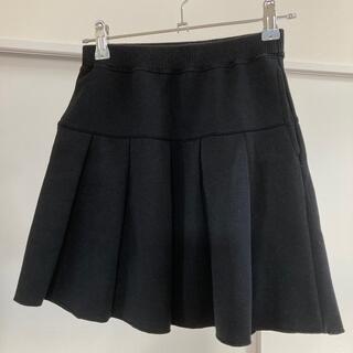 ユニクロ(UNIQLO)のユニクロ 140 黒プリーツスカート(スカート)
