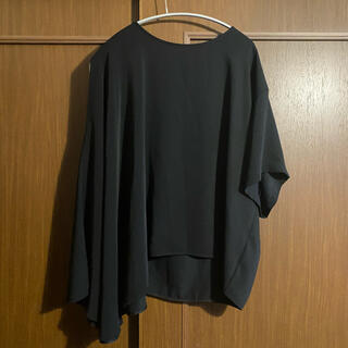エムエムシックス(MM6)のmm6☆変形トップス(カットソー(半袖/袖なし))
