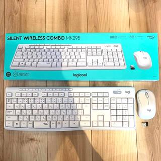 ロジクール ワイヤレスマウス キーボードセット(PC周辺機器)