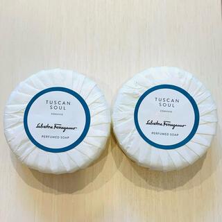 サルヴァトーレフェラガモ(Salvatore Ferragamo)のフェラガモ 石鹸2個(ボディソープ/石鹸)