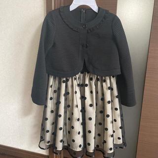 クミキョク(kumikyoku(組曲))の組曲 フォーマルワンピース ボレロセット(ドレス/フォーマル)