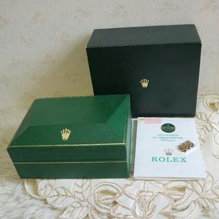 ロレックス(ROLEX)のロレックス純正パーツ メンズ 68273用コマ&Gカード&ケース【中古】(金属ベルト)