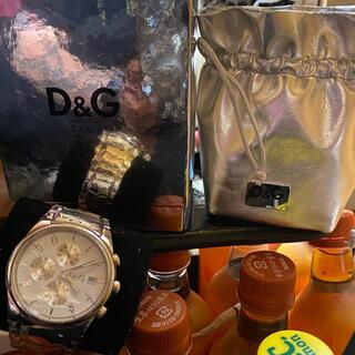 ドルチェアンドガッバーナ(DOLCE&GABBANA)のD&Gの腕時計(腕時計(アナログ))