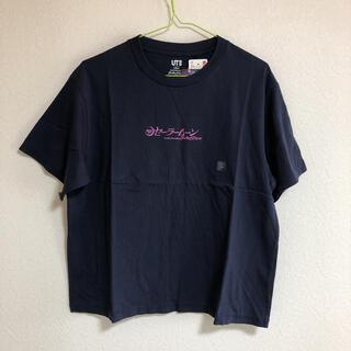 ユニクロ(UNIQLO)の新品タグ付き UNIQLO セーラームーン  Tシャツ セーラー戦士 ネイビー(Tシャツ(半袖/袖なし))