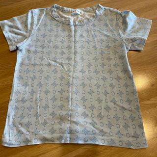 セリーヌ(celine)のセリーヌ ブルーカラー×セリーヌロゴ 110(Tシャツ/カットソー)