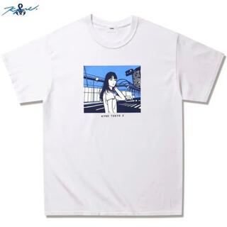 ソフ(SOPH)のSOPHNET. KYNE TOKYO 2  S/S  Tシャツ Lサイズ(Tシャツ/カットソー(半袖/袖なし))