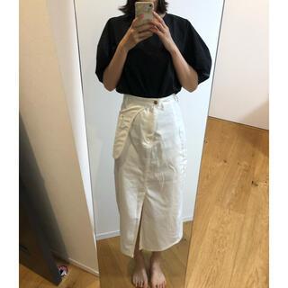 ディーホリック(dholic)のDHOLIC ホワイトスカート(ひざ丈スカート)