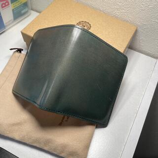 ガンゾ(GANZO)のGANZO コードバンオーセンティック コンパクトウォレット(折り財布)