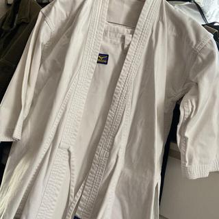 ミズノ(MIZUNO)のミズノ空手着 上下セット帯なし 葛城地(綾織り地)(相撲/武道)