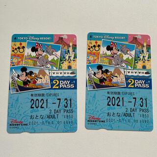 ディズニー(Disney)のディズニーリゾートライン フリー乗車券(鉄道乗車券)