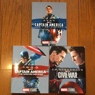 マーベル(MARVEL)のキャプテン・アメリカ MovieNEX ブルーレイ 3作品セット(外国映画)
