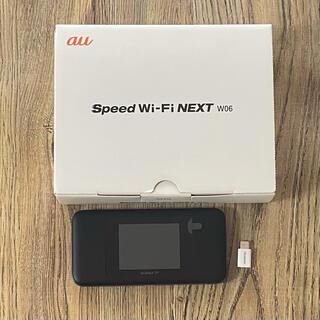 ファーウェイ(HUAWEI)のau SPEED Wi-Fi next W06(その他)