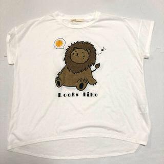 AS KNOW AS - ライオン ビックTシャツ