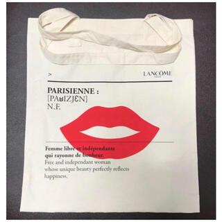 ランコム(LANCOME)のランコム トートバック 未使用品 トート リップ デザイン 唇 くちびる(トートバッグ)