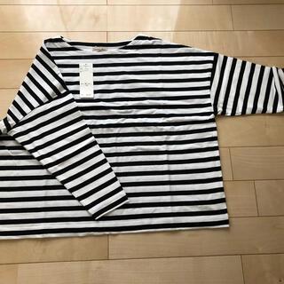 サマンサモスモス(SM2)のサマンサモスモス バスクボーダーTシャツ(カットソー(長袖/七分))