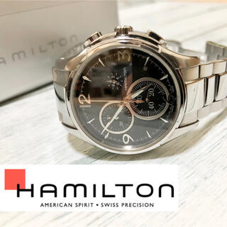 Hamilton - 【HAMILTON】ジャズマスター クロノグラフ クォーツ