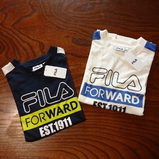 FILA - 新品! FILA   Tシャツ 140   2枚セット