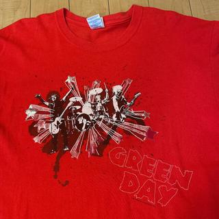 サンタモニカ(Santa Monica)のビンテージ Green Day グリーン デイ パンク ロック バンド Tシャツ(Tシャツ/カットソー(半袖/袖なし))
