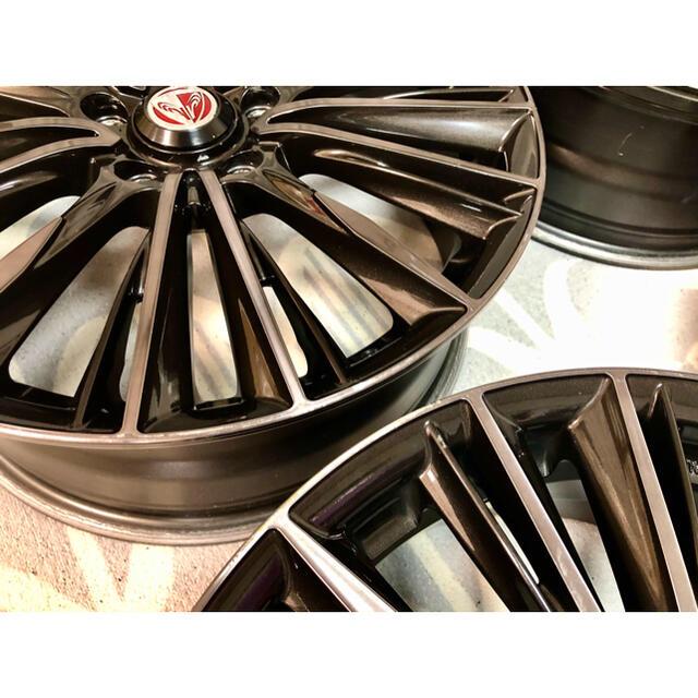18インチ RAYS VERSUS STRATAGEA VOUGE ホイール  自動車/バイクの自動車(ホイール)の商品写真