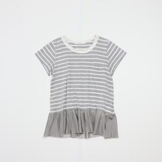 サカイラック(sacai luck)のsacai luck ボーダーカットソー(Tシャツ(半袖/袖なし))