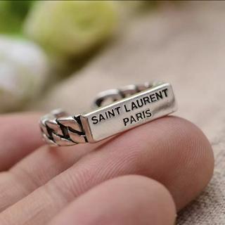 トゥデイフル(TODAYFUL)のHマーク シルバー925 オシャレリング指輪(リング(指輪))