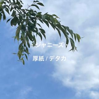 ジャニーズ(Johnny's)のmyojo デタカ メセカ 厚紙(アイドルグッズ)