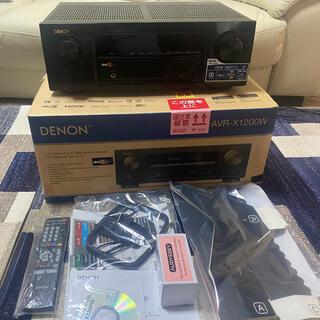 DENON - デノン AVR-X1200W-K