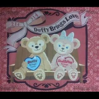 ディズニー(Disney)のバレンタイン ブランケット 2010 ダッフィー シェリーメイ リゾート(毛布)