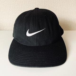 ナイキ(NIKE)の'90s 銀タグ NIKE cap black 1番人気(キャップ)
