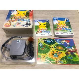 ポケモン(ポケモン)のピカチュウげんきでちゅう Nintendo64(家庭用ゲームソフト)