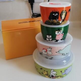 ◆ムーミン◆レンジ鉢4点セット◆大・中・小✕2◆(容器)