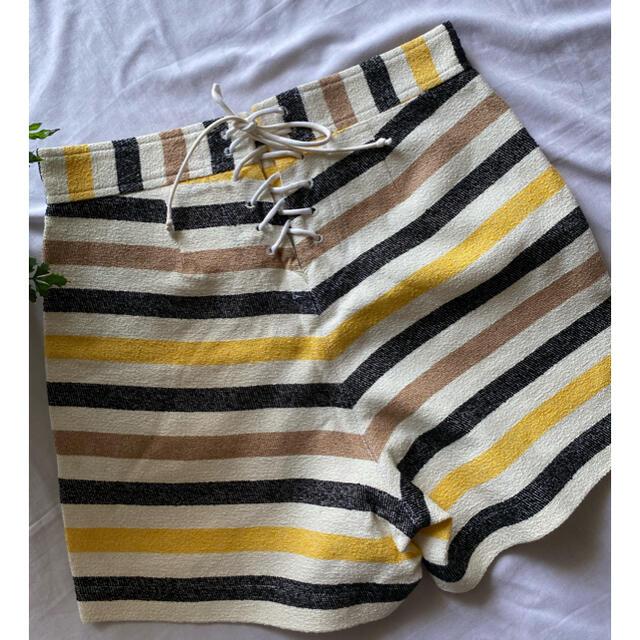 sacai luck(サカイラック)のサカイ sacai ショートパンツ ミュベール 2 レディースのパンツ(ショートパンツ)の商品写真