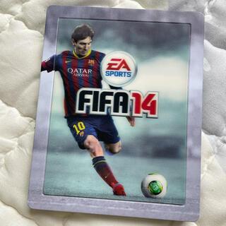 FIFA 14 Limited メッシディスクケース レンチキュラー(キャラクターグッズ)