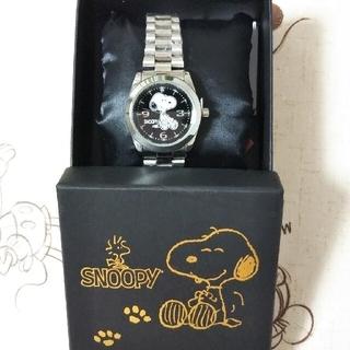 スヌーピー(SNOOPY)のスヌーピー・メタルウォッチ 腕時計(腕時計)