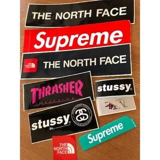 シュプリーム(Supreme)のSUPREME&north face&STUSSY&THRASHERステッカー(その他)