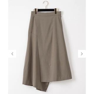 グレースコンチネンタル(GRACE CONTINENTAL)のラップイレギュラースカート(ロングスカート)