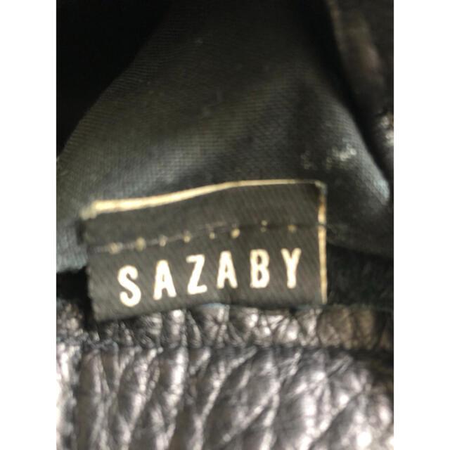 SAZABY(サザビー)のサザビー レザーバックパック レディースのバッグ(リュック/バックパック)の商品写真