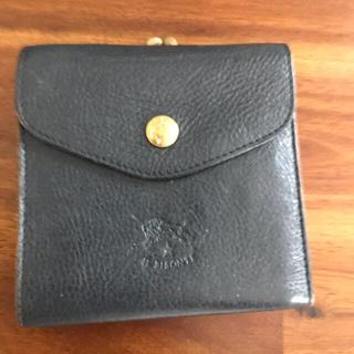 IL BISONTE - イルビゾンテ 財布 ネイビー