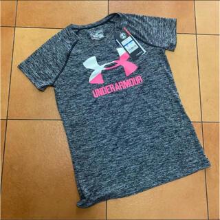 アンダーアーマー(UNDER ARMOUR)の新品 アンダーアーマー 160 女の子 Tシャツ(Tシャツ/カットソー)