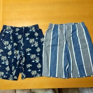 ジーユー(GU)のパジャマ ルームウェア パンツ 男 夏用 Sサイズ 155〜165cm GU(その他)