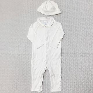 ラルフローレン(Ralph Lauren)のラルフローレン ベビー カバーオール ホワイト(カバーオール)