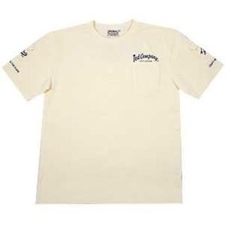 テッドマン(TEDMAN)のテッドマン/3ポケットTシャツ/ホワイト×ネイビー/TDSS-470(Tシャツ/カットソー(半袖/袖なし))