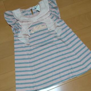 ジルスチュアートニューヨーク(JILLSTUART NEWYORK)のジルスチュアート 140 ピンク(Tシャツ/カットソー)