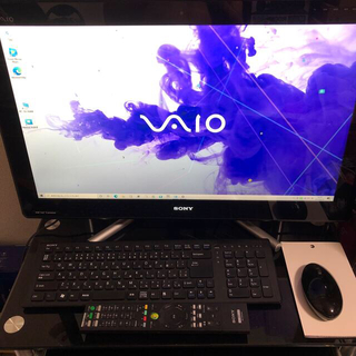 バイオ(VAIO)のSONY VAIOパソコン SVPL247FJ(デスクトップ型PC)