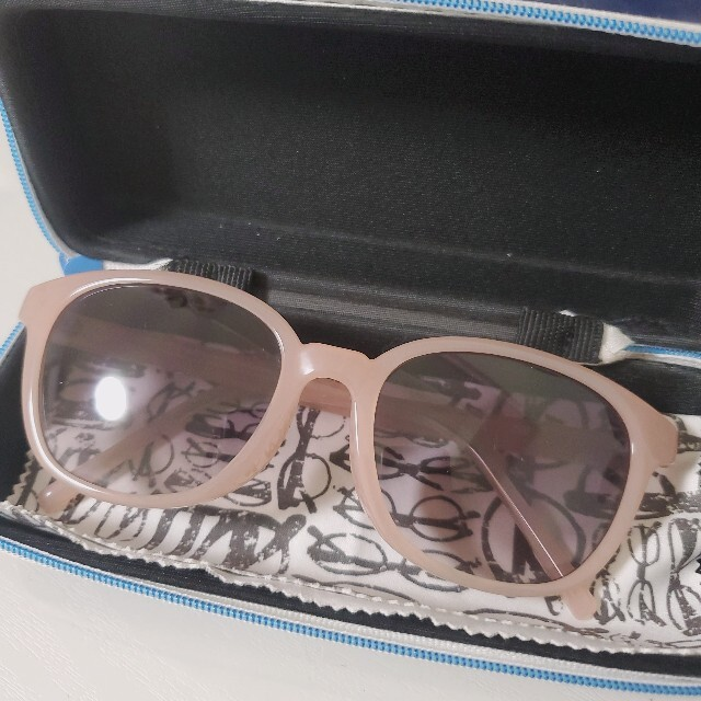 Zoff(ゾフ)のZoff サングラス CLASSIC SUNGLASSES ピンク メンズのファッション小物(サングラス/メガネ)の商品写真